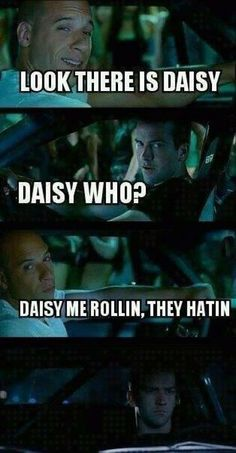 Fast and Furious, Dominic Toretto and Sean Boswell Really Funny Memes, Stupid Funny, Funny Jokes, Funny Stuff, That's Hilarious, Funny Texts, Furious Movie, The Furious, Movie Memes
