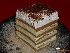 KEKS TORTA SA KREMOM OD PUDINGA – BEZ PEČENJA   Recepti za vas