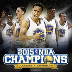 The Golden State Warriors have won the 2015 NBA championship, the team's first title in 40 years. The Warriors tonight defeated the Cleveland Cavaliers in Game 6 of the NBA Finals, closing out the series While the game 2015 Nba Champions, Nba Golden State Warriors, Nba Championships, Home Team, Team S, Nba Players, Basketball Players, Sports Teams, Basketball Shoes