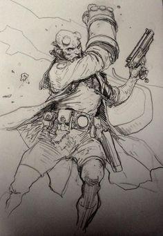 Mobile Uploads - Art of Karl Kopinski Character Concept, Character Art, Concept Art, Character Design, Comic Book Characters, Comic Books Art, Book Art, Guy Drawing, Drawing Sketches