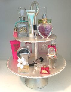 Great, simple way to display your favorite perfumes PLUS things to remember when choosing which ones to display!