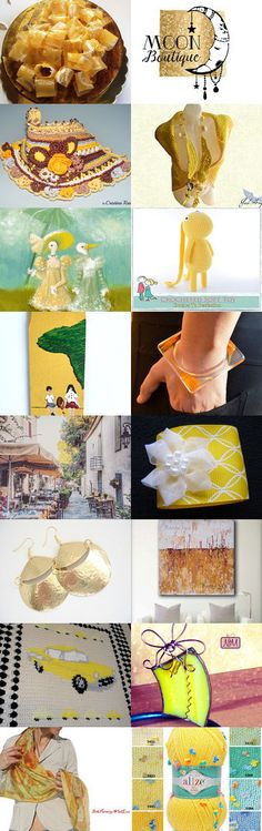 Yellow Monday by Olga on Etsy--Pinned+with+TreasuryPin.com