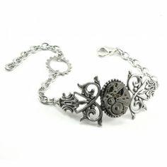 Steampunk Bracelet  Geared Up  AMAZING by SteampunkSweetShoppe, $40.00 by Bettyblue
