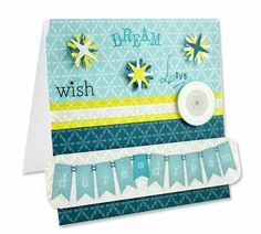 Dream Scrapbooking Card featuring the Dream product line from Creative Memories http://www.creativememories.com