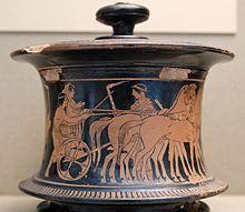 Pyxide (vase) — Wikipédia plutôt boîte, coffret, à fards, à bijoux ...