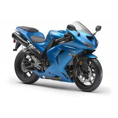 2007 Kawasaki Ninja Zx 10R Blue Static Photo 2 ❤ liked on Polyvore featuring cars, vehicles, motorcycle, transportation and bikes