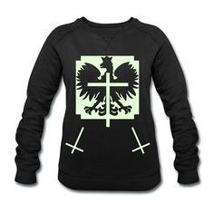 Polska Triple Crucifix Sweater Women (*Im Dunkeln Leuchtend*) - Frauen Sweatshirt von Stanley & Stella