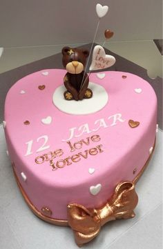 12 years together cake made by Angelique Bond