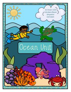 Introduce your students to ocean animals! In this unit, students will study and write about ocean animals and their zonal habitats. Showcase student writing with several craftivities. I've included writing resources for the following animals: sea turtle, hammerhead shark, great white shark, coral reefs, jellyfish, seahorse, octopus, crab, starfish, manatee, clown fish and anemone. $