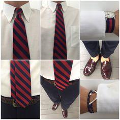 #WIWT keeping it consistent & uniform #prepdom #preppy #OCBD #weejuns #ootd