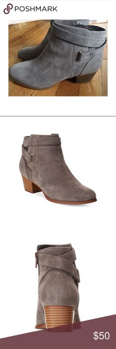 """Brand new Giani Bernini booties Super cute with skirts or leggings for casual style.  Manmade upper - 1-1 2"""" heel Giani Bernini Shoes Ankle Boots & Booties"""
