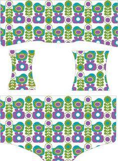 Fabrik der Träume: Kostenlose Schnittmuster und Nähanleitung für Mädchen Unterhose