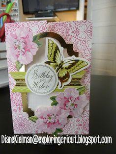 Exploring Cricut: Anna Griffin Flip Cards to Share