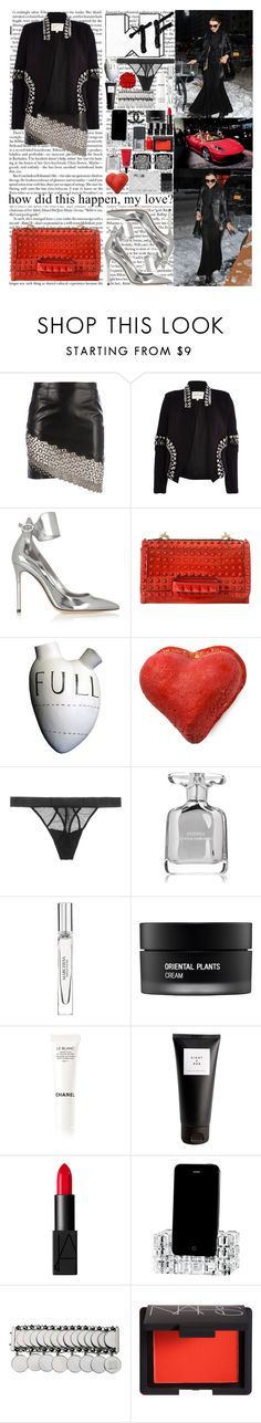 """""""Done Look what I've done in my life I had to count it then count it again To make sure the money was right They love to talk Me, I'm just done in the hype Me, I'm just done in the hype"""" by labelsoflove ❤ liked on Polyvore featuring Anthony Vaccarello, River Island, Gianvito Rossi, Valentino, FOS, Samantha Chang, Narciso Rodriguez, Marchesa, Koh Gen Do and Chanel"""
