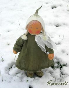Snowdrop - so maybe not so candlemas related - but she does look like a snowdrop and is so so cute!
