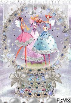Happy Birthday Doll, Happy Birthday Video, Happy Birthday Quotes, Happy Birthday Greetings, Beautiful Gif, Beautiful Fairies, Gifs, Birthday Wishes Messages, Heart Gif