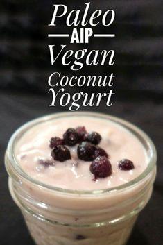 Paleo Autoimmune Protocol, Coconut Yogurt, Snacks, Vegan, Breakfast, Desserts, Recipes, Food, Morning Coffee