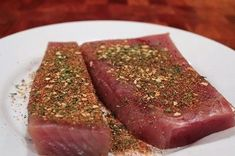 Smoking tuna can be very complicated when you don't know what you're doing. I am going to show you step-by-step how to smoke tuna, including the preparing Smoked Tuna Steak Recipe, Albacore Tuna Loin Recipe, Ahi Tuna Recipe, Grilled Tuna Steaks, Cooking Tuna Steaks, Tuna Steak Recipes, Meat Recipes, Pellet Grill Recipes, Grilling Recipes