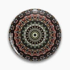 Natural mandala from the earth: It is the Mandala of the earth, of the natural, of the material world. It has to do with the need to take root or find a place in the world that is your own. Connect with the life that grows and take care of it. Stability and firmness. #pinbuttons #pin #mandalapinbutton #bohopinbutton #positivepinbutton #goodvibespinbutton #cr6zym1nd  #findyourthing #bohemianpinbutton #accessories  #naturalmandalapinbutton One Design, Custom Design, Material World, Badge Design, Stability, Badges, Connect, Mandala, Earth