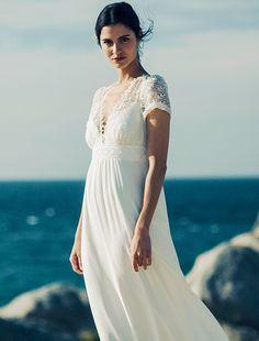 robe de mariee Laure de Sagazan collection 2017 bridal | Vogue