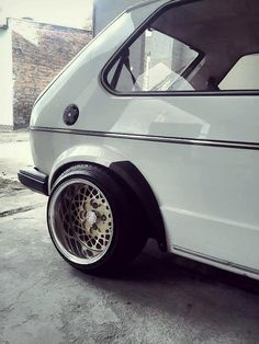"Mk1 Gti on 13""BBS e30's, can you think of a better combo?"