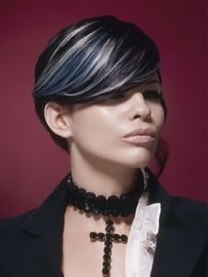 Romantic Goth Girl Hairstyles - Adopting the signature Goth outfits and accessories is only the first step towards becoming an authentic Goth devotee. However, if you are a fan of the softer and more sensual branch of this movement, you might consider sporting the latest tendencies in Romantic Goth hairstyles that will further polish your fondness for the dark side.