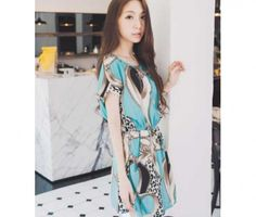 Green Chiffon Dress, Beautiful Dresses, Kimono Top, Cover Up, Clothes For Women, Blouse, Sleeves, Tops, Fashion