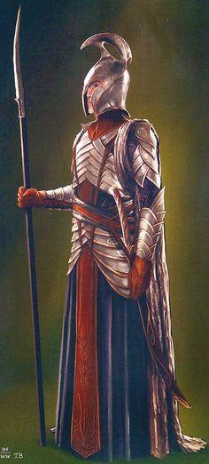 Rivendell elves - Art concept