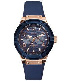 Ceas de dama Jet Setter Guess W0571L1 este un produs nou si original. Ceas de dama Jet Setter Guess W0571L1 este livrat in cutie proprie, impreuna cu manualul de utilizare, factura si certificat de garantie.