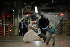 See this image of Grand Central Station - SarahSadie Newett and Orlando Martinez in Jordan Matter's upcoming book: Dancers Among Us - in bookstores this fall! Tango, Dance Senior Pictures, Dancers Among Us, Men In Shower, Hip Hop, Central Station, Dance Photography, Amazing Photography, Photography Ideas