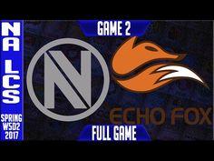 NV vs FOX G2 - NA LCS Week 5 Day 2 Spring 2017 - Team Envy vs Echo Fox Game 2