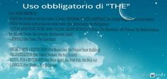 Words added on pinwords.com - Uso obbligatorio di #THE