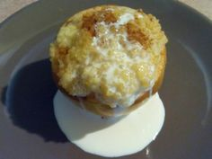 Sütőben sült alma kölestúróval Food And Drink, Eggs, Breakfast, Morning Coffee, Egg, Egg As Food