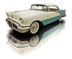1956 Oldsmobile 88 Holiday 324 Rocket Photo Credit: RK Motors Charlotte, oldsmobile, old, vehicle, cool My Dream Car, Dream Cars, Classic Trucks, Classic Cars, Vintage Cars, Antique Cars, V8 Cars, Oldsmobile 88, American Auto