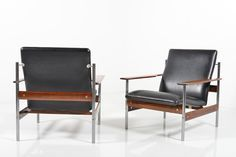 Pair of Easychairs by Sven Ivar Dysthe