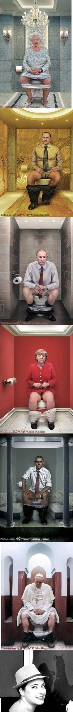 World Leaders taking a dumb......