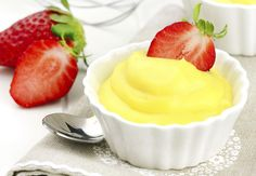 If you don't have custard powder, you can make your own custard mix with cornstarch, vanilla extract and a little bit of salt. Vanilla pudding mix works too. Bird's Custard, Custard Powder, Vanilla Custard, Vanilla Flavoring, Lemon Pudding Recipes, Lemon Dessert Recipes, Lemon Recipes, Sweet Recipes, Cake Filling Recipes