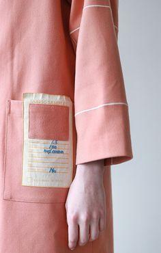 Tyakasha Design Patterns Hooded Jacket | Long - BKBT Concept  - 1