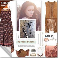 How To Wear The Faint Of Heart Jewelry - 2 Outfit Idea 2017 - Fashion Trends Ready To Wear For Plus Size, Curvy Women Over 20, 30, 40, 50