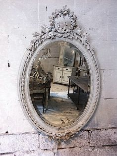 mirrors & other things(candlesticks, trinket boxes, etc) painted gold
