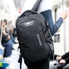 Men's Backpack //Price: $54.70 & FREE Shipping //     Sale Depot http://saledepot.biz/product/2017-new-mr-mens-backpacks-bolsa-mochila-for-laptop-14inch-15-inch-16-inch-notebook-computer-bags-men-backpack-school-rucksack/    #discount