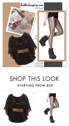 """""""BadAssLeggings.com"""" by janee-oss ❤ liked on Polyvore featuring Jane Norman"""
