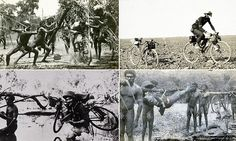 Historic photos of a 3,000km bike ride from Adelaide to Darwin