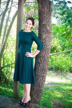 Antoinette Dress in Emerald | Dainty Jewell's Boutique