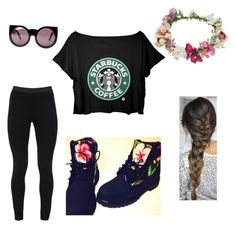 """""""#bored"""" by ohsnapitzmere ❤ liked on Polyvore"""