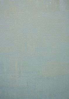 Seta Vinyl Wallpaper A paperbacked vinyl wallpaper overprinted with a brushwork texture in duck egg blue.