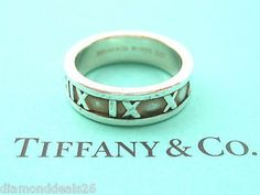 Atlas open wide ring in sterling silver - Size 7 1/2 Tiffany & Co. qqlFH