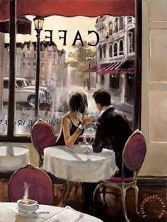 After Hours Painting by brent heighton