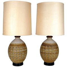 Bob  Kinzie  Lamps | From a unique collection of antique and modern table lamps at https://www.1stdibs.com/furniture/lighting/table-lamps/