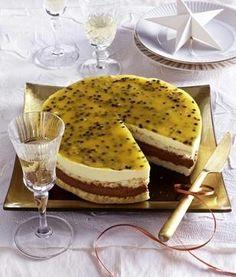 Das Rezept für Schoko-Passionsfrucht-Torte und weitere kostenlose Rezepte auf LECKER.de